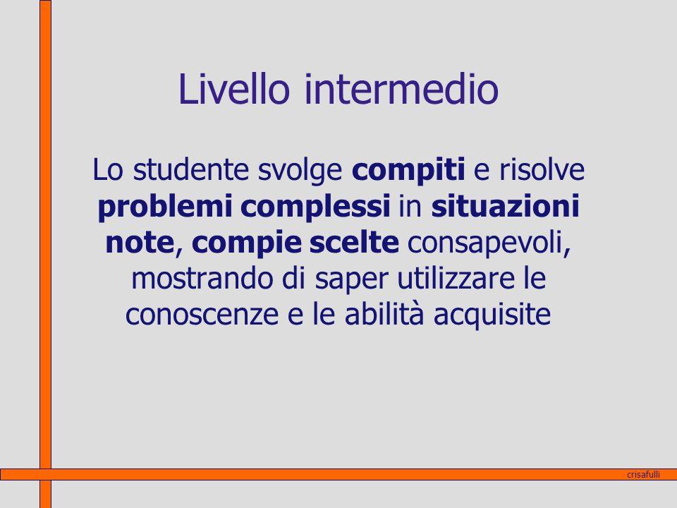 Livello intermedio