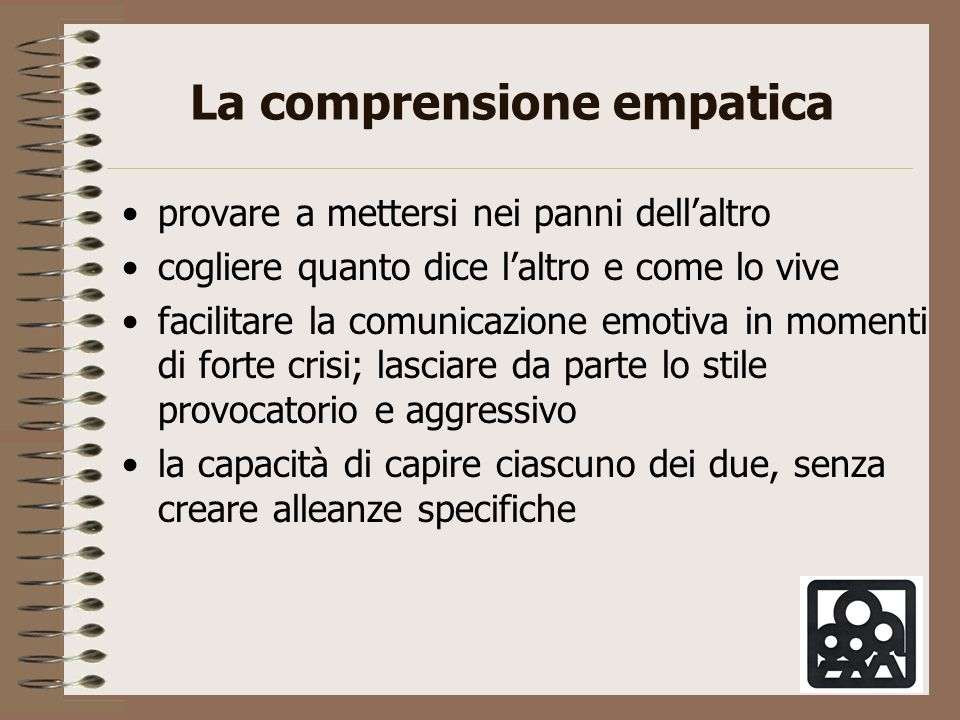 La comprensione empatica