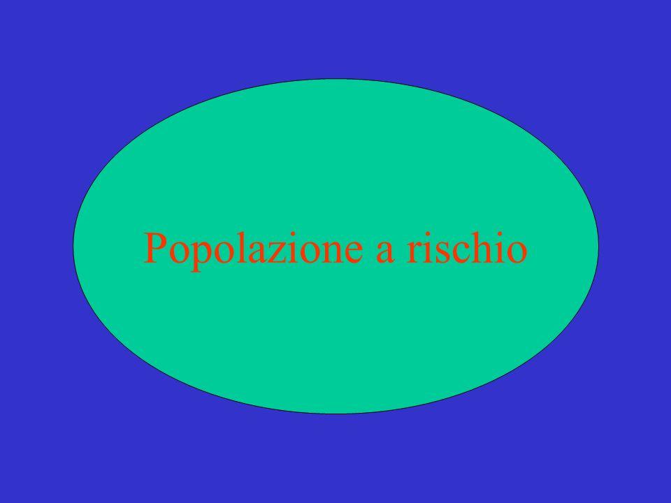 Popolazione a rischio