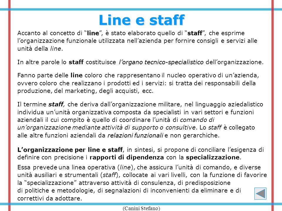 Line e staff