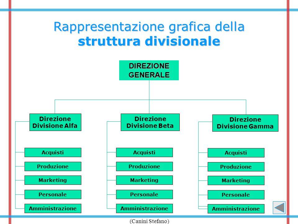 struttura divisionale