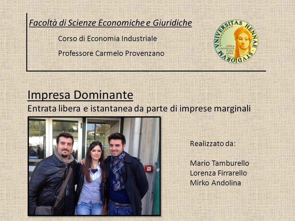 Facoltà di Scienze Economiche e Giuridiche