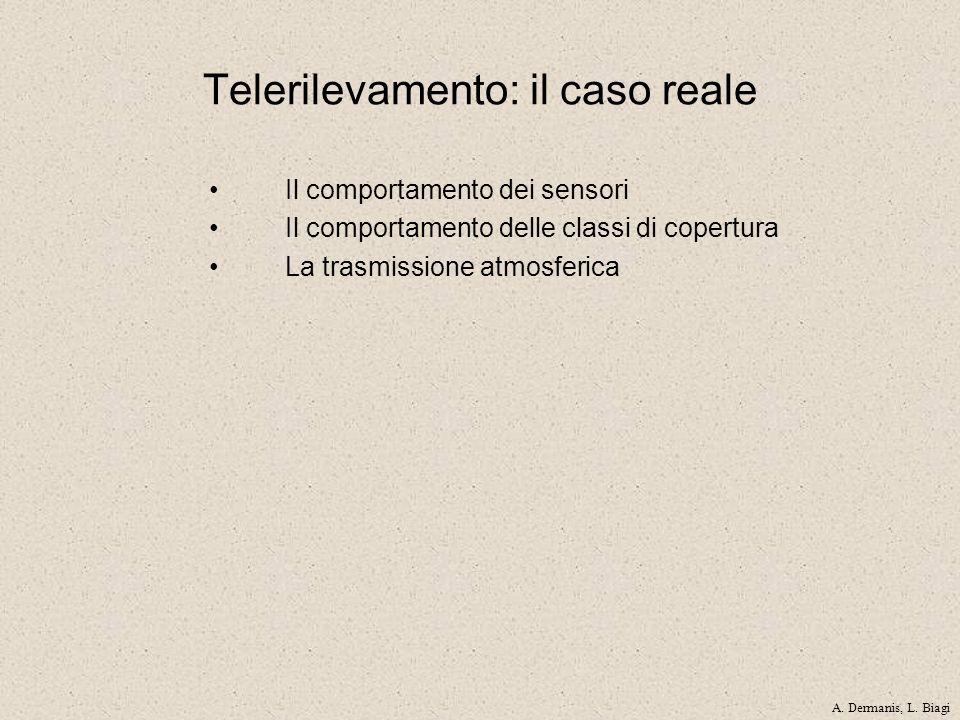 Telerilevamento: il caso reale