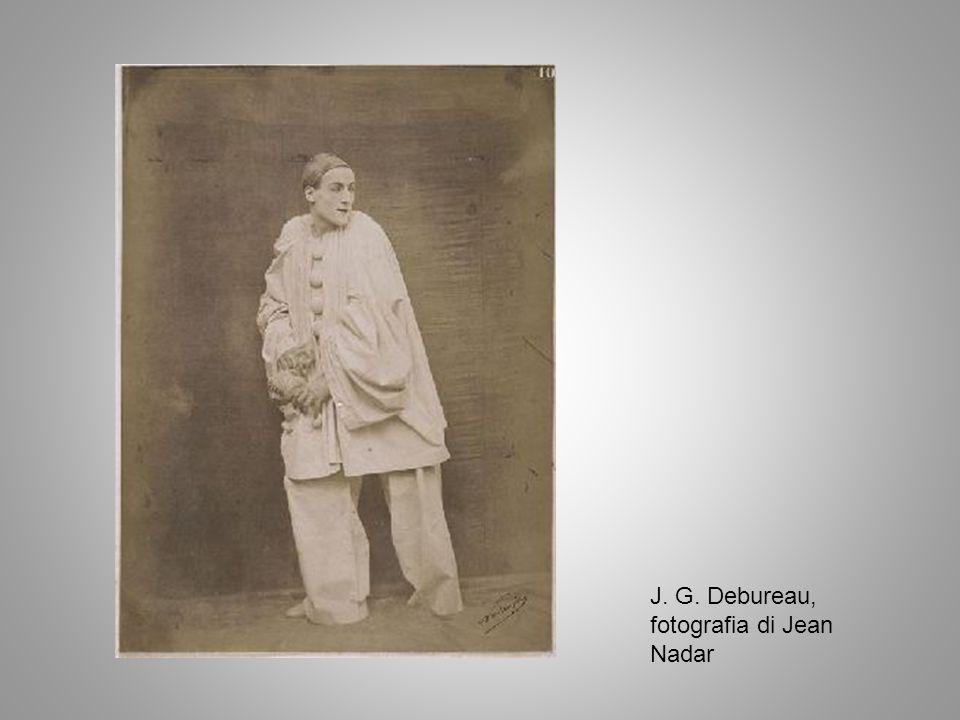 J. G. Debureau, fotografia di Jean Nadar