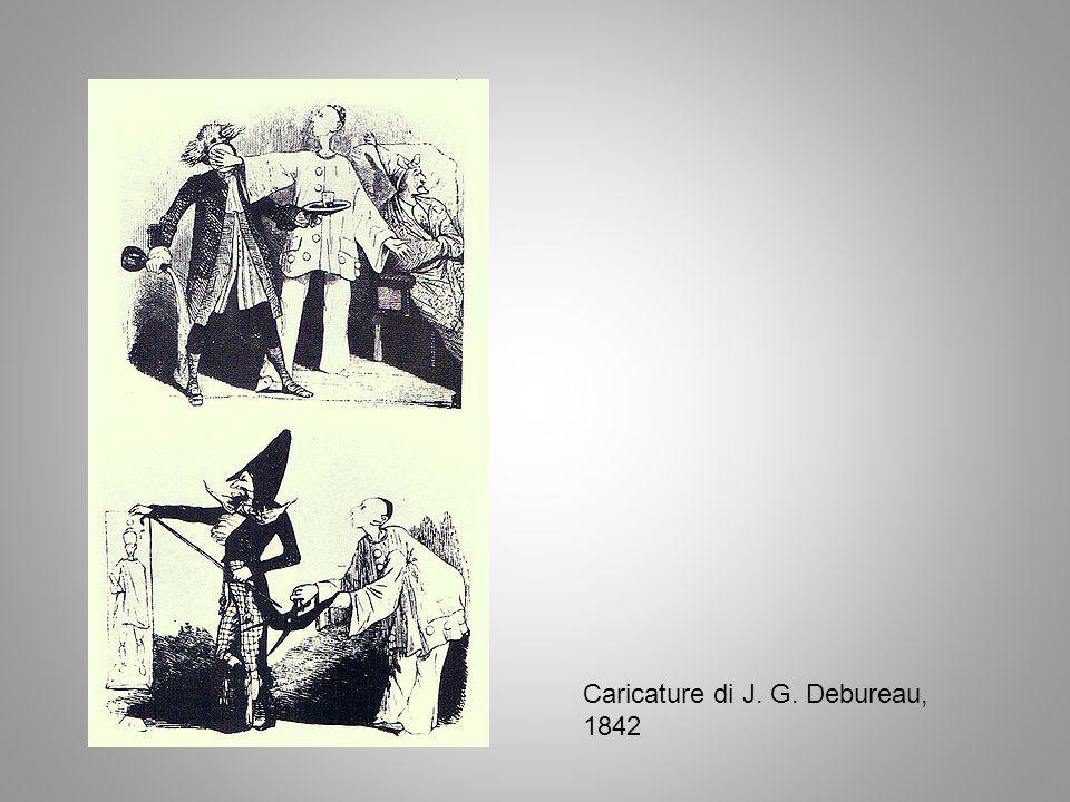 Caricature di J. G. Debureau, 1842