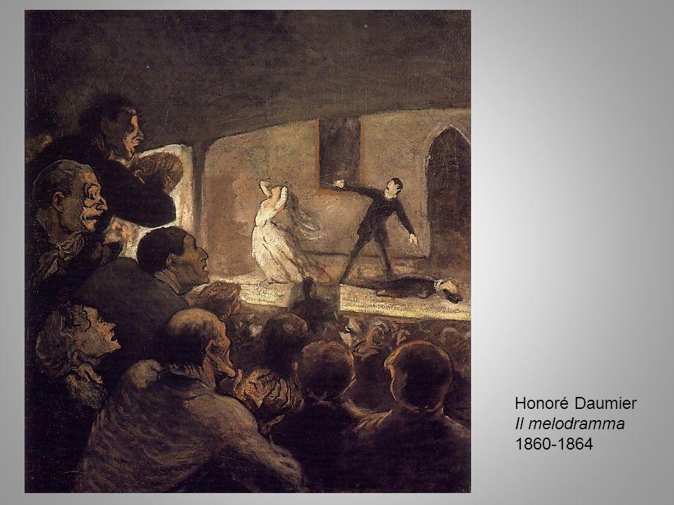 Honoré Daumier Il melodramma 1860-1864