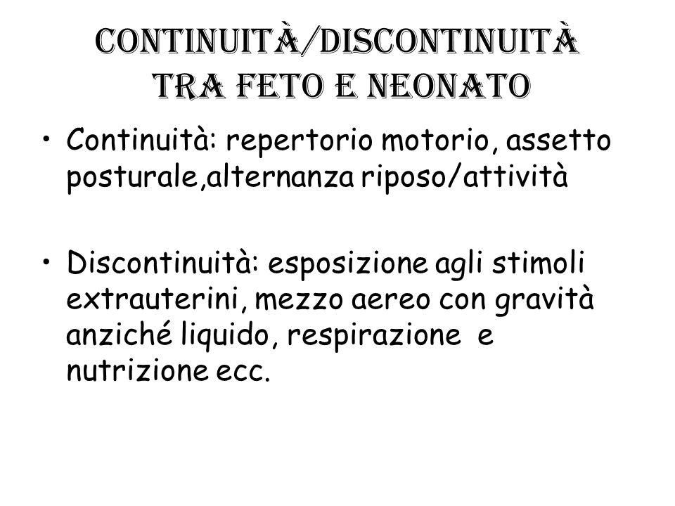 Continuità/discontinuità tra feto e neonato