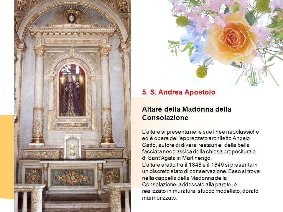 Altare della Madonna della Consolazione