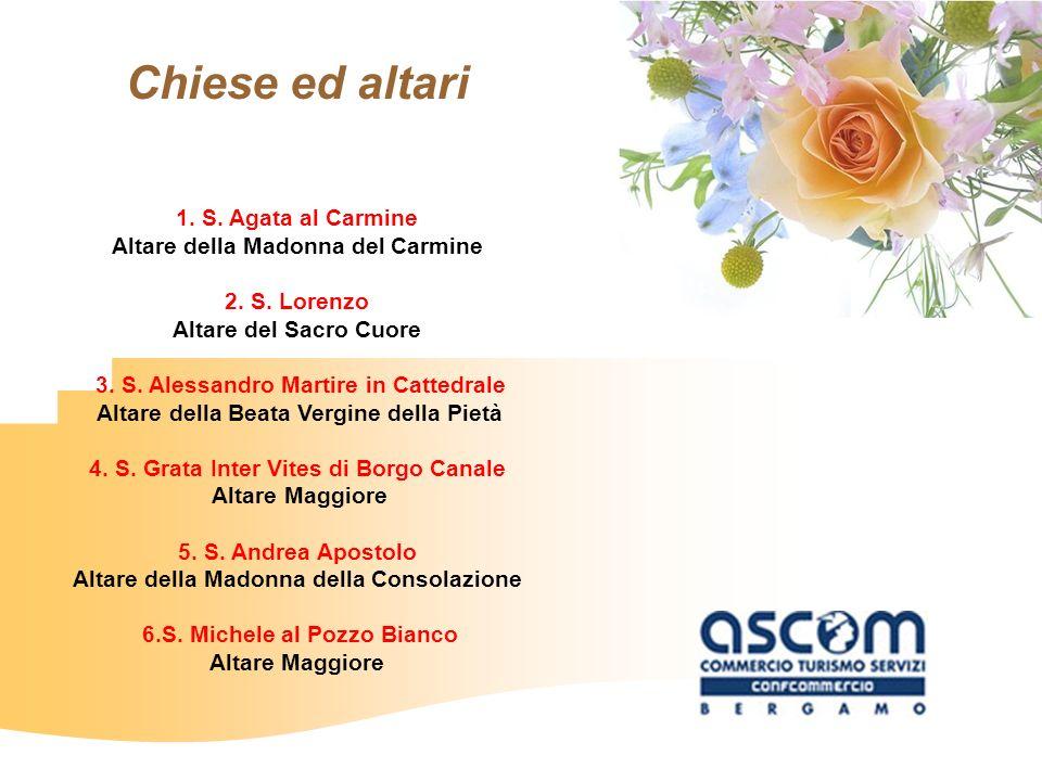 Chiese ed altari 1. S. Agata al Carmine
