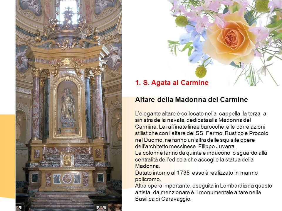 Altare della Madonna del Carmine