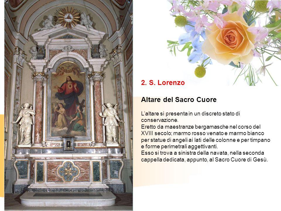 2. S. Lorenzo Altare del Sacro Cuore