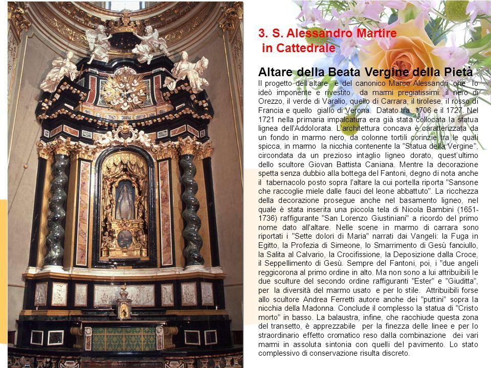 Altare della Beata Vergine della Pietà