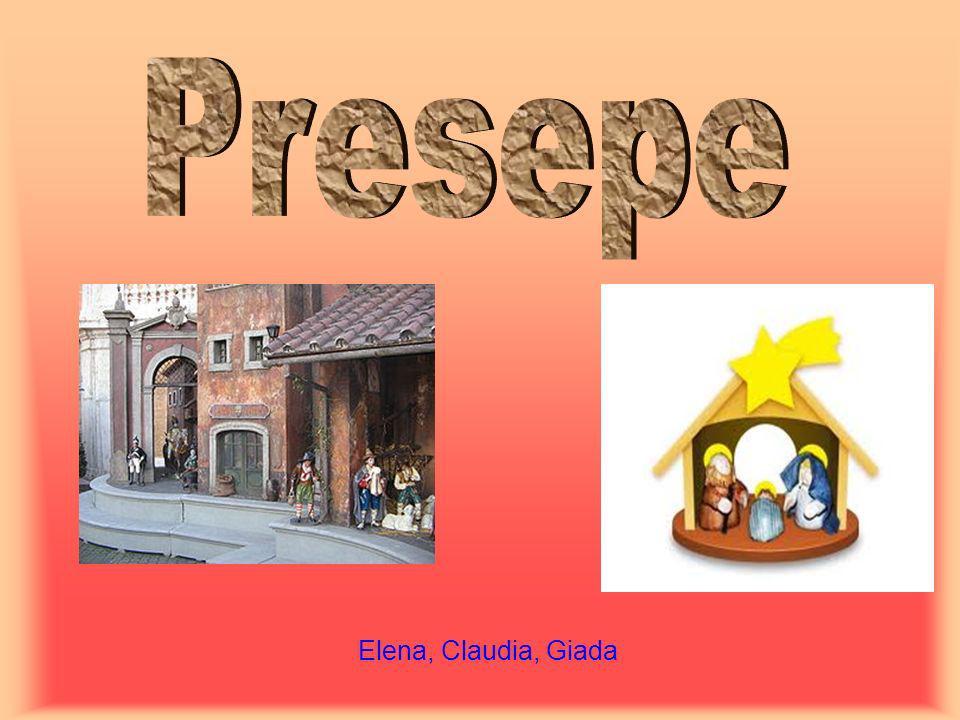 Presepe Elena, Claudia, Giada