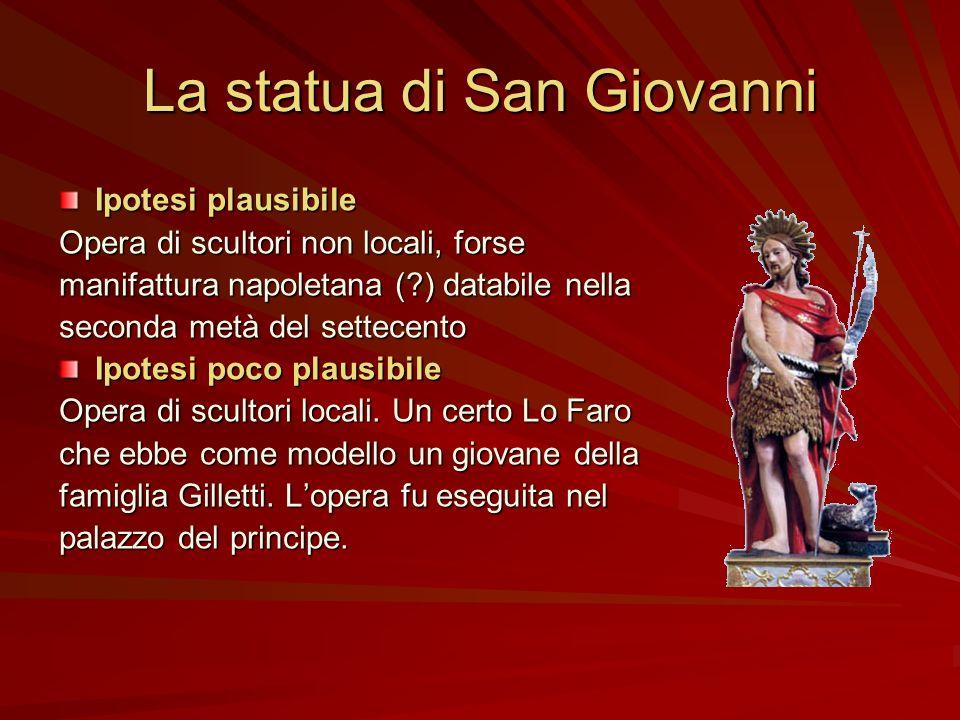 La statua di San Giovanni