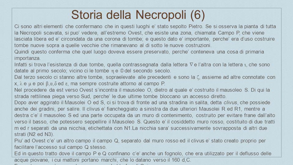 Storia della Necropoli (6)
