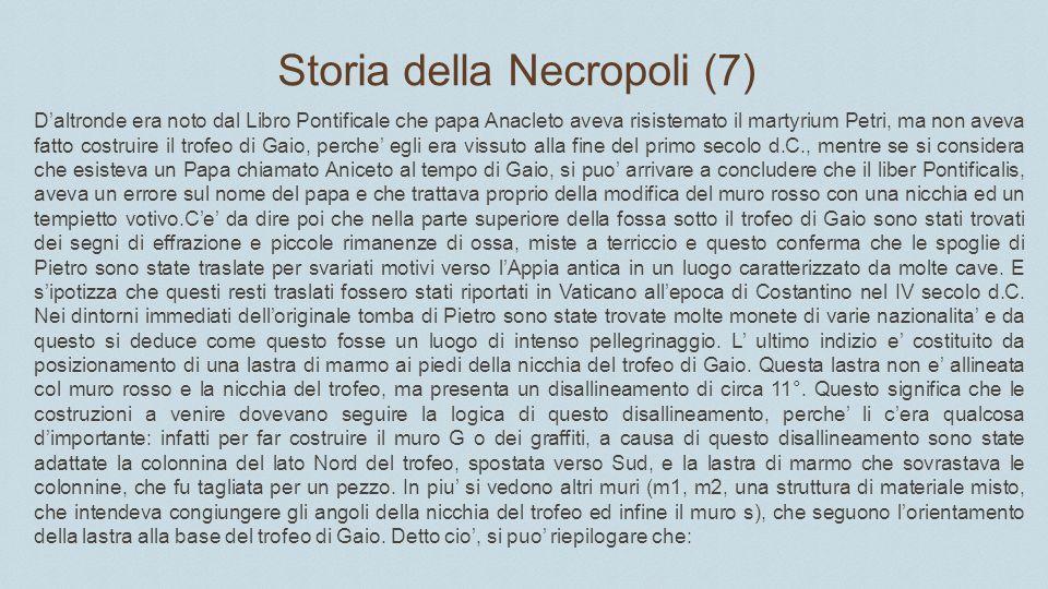 Storia della Necropoli (7)