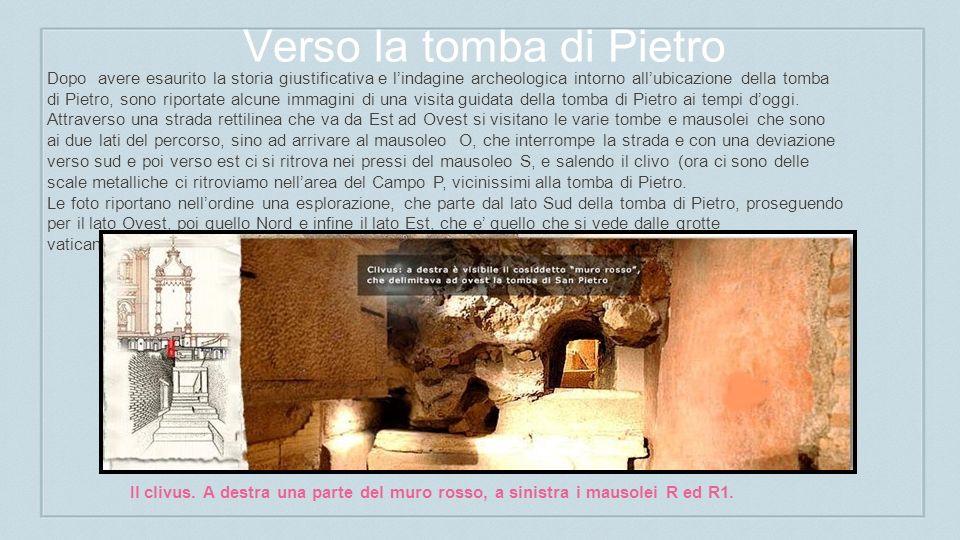 Verso la tomba di Pietro