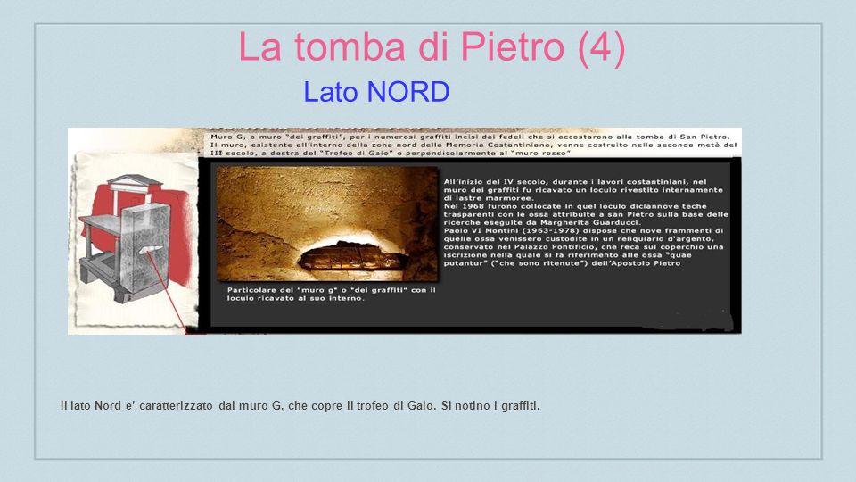 La tomba di Pietro (4) Lato NORD