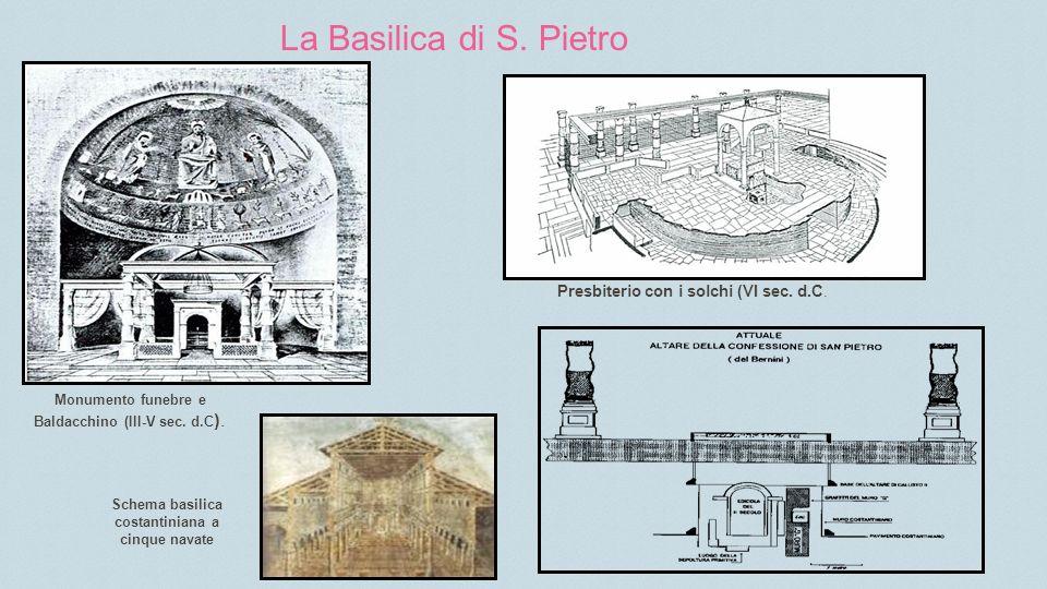 La Basilica di S. Pietro Presbiterio con i solchi (VI sec. d.C.
