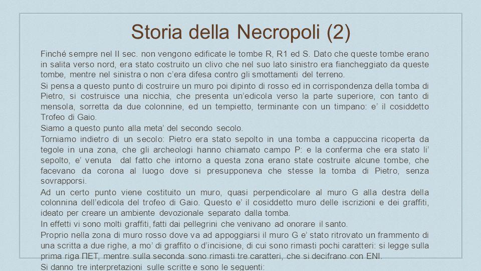 Storia della Necropoli (2)