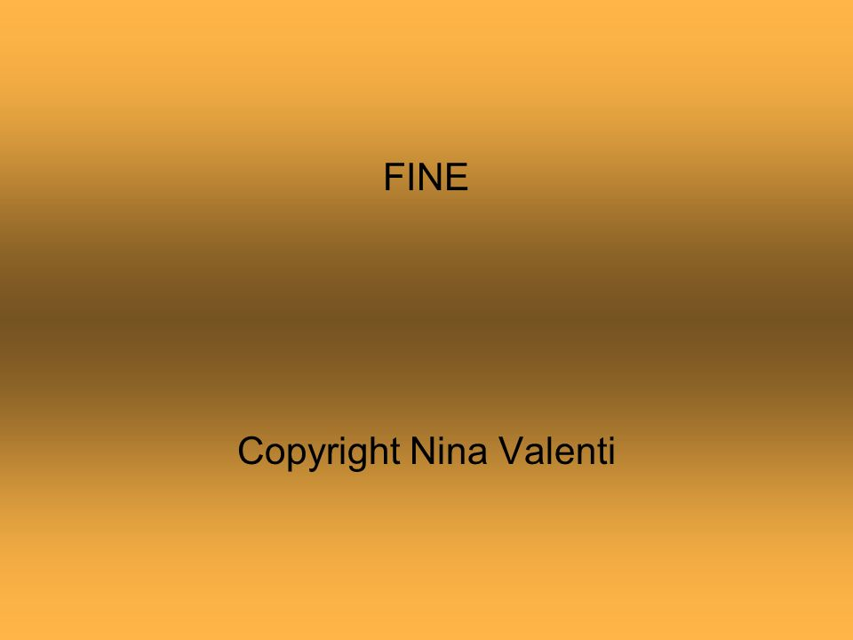 Copyright Nina Valenti