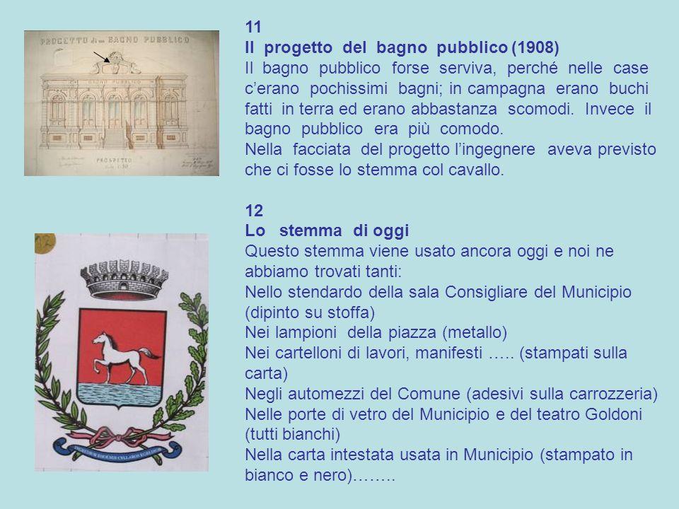 11 Il progetto del bagno pubblico (1908)