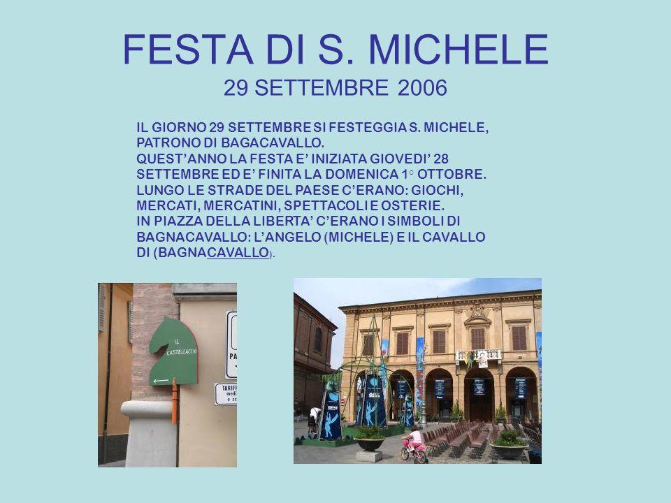 FESTA DI S. MICHELE 29 SETTEMBRE 2006