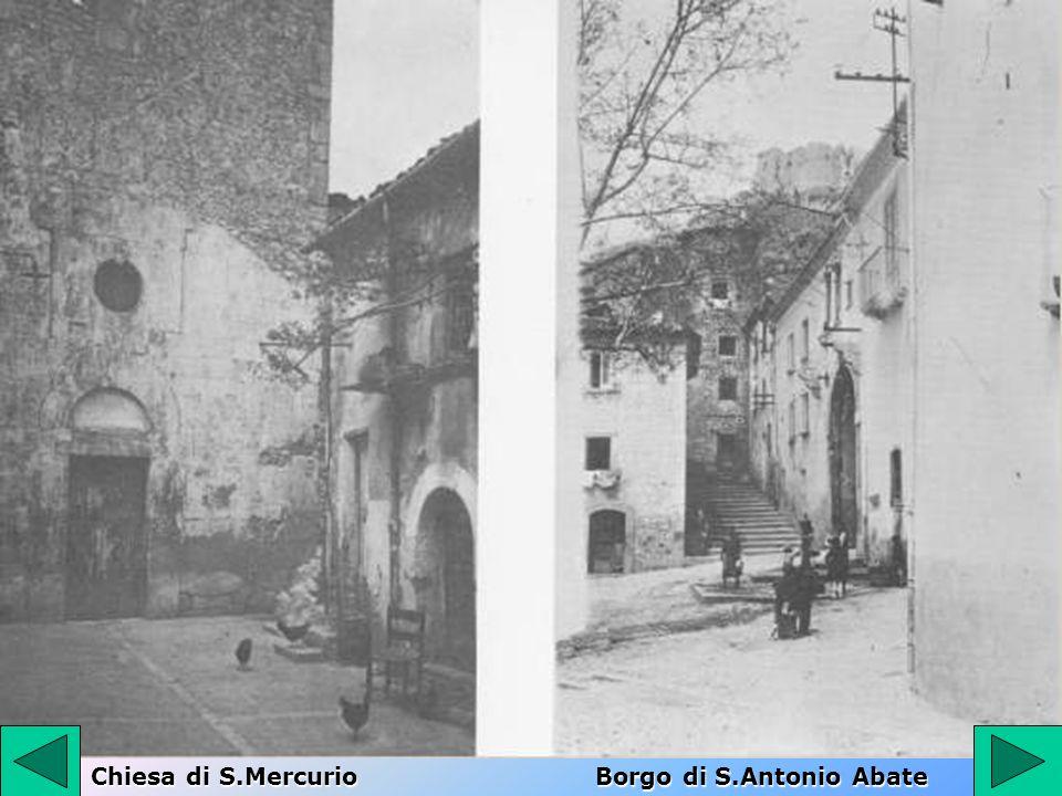 Chiesa di S.Mercurio Borgo di S.Antonio Abate