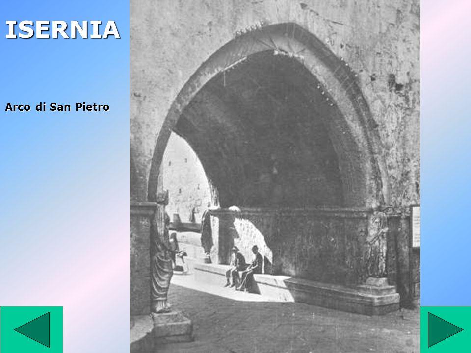 ISERNIA Arco di San Pietro