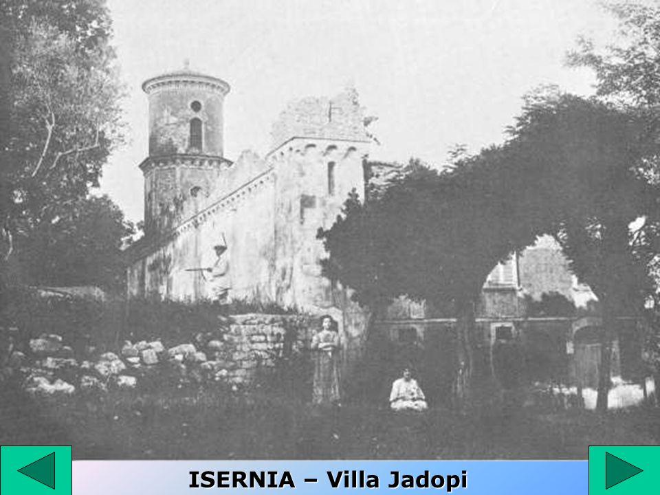 ISERNIA – Villa Jadopi