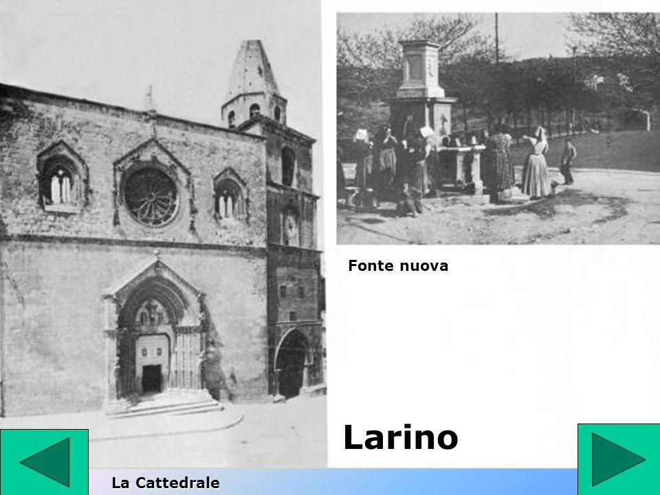 Fonte nuova Larino La Cattedrale