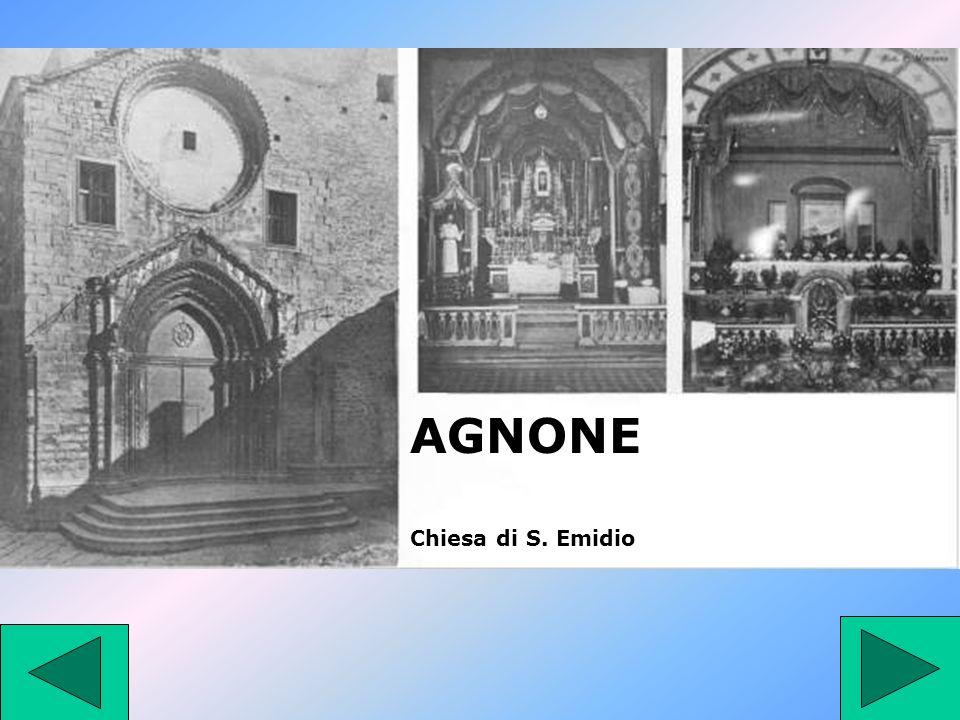 AGNONE Chiesa di S. Emidio