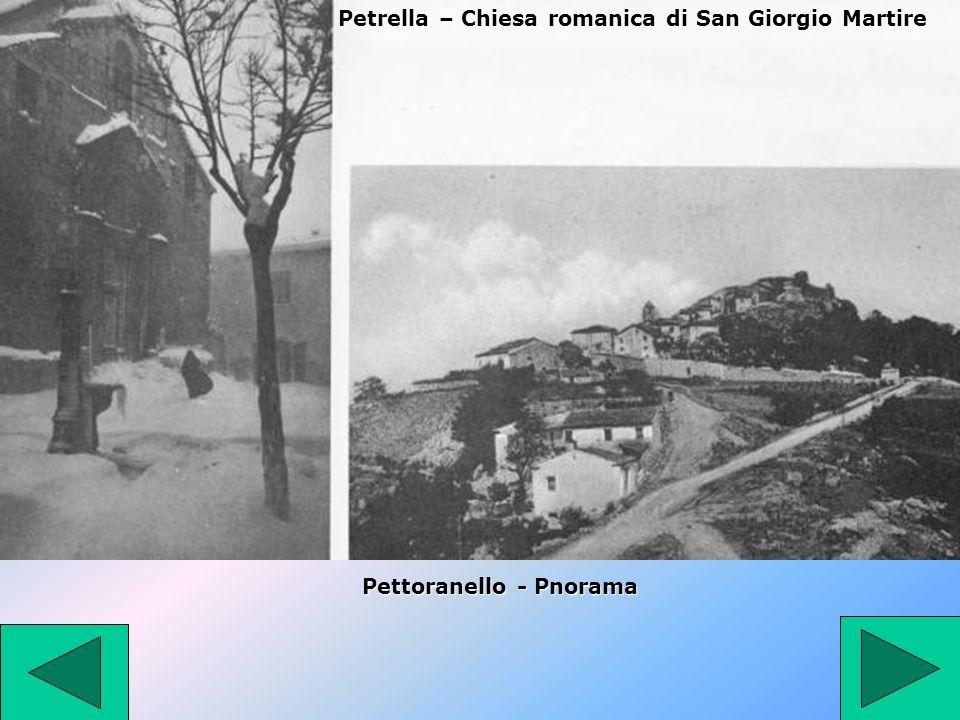 Petrella – Chiesa romanica di San Giorgio Martire