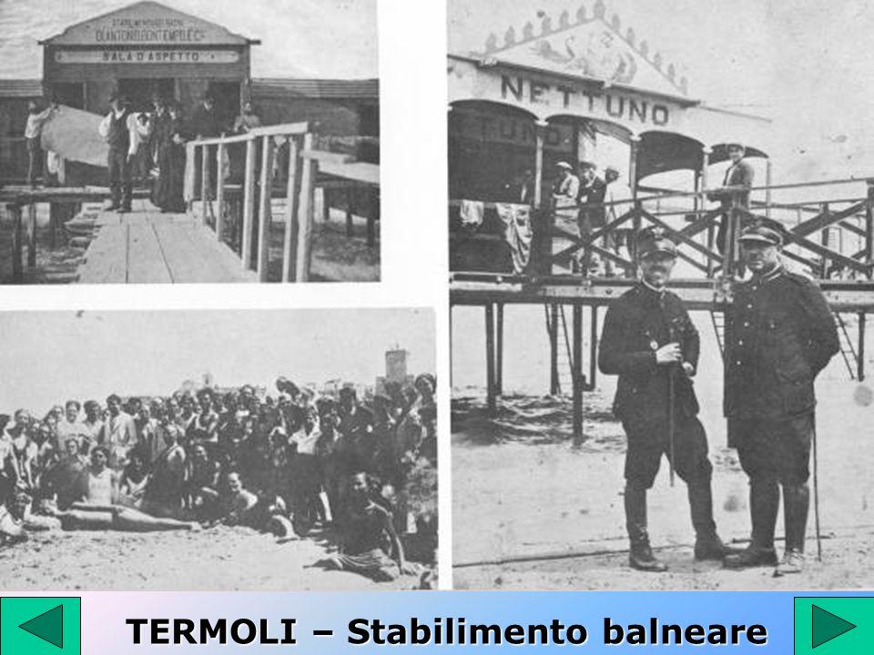 TERMOLI – Stabilimento balneare