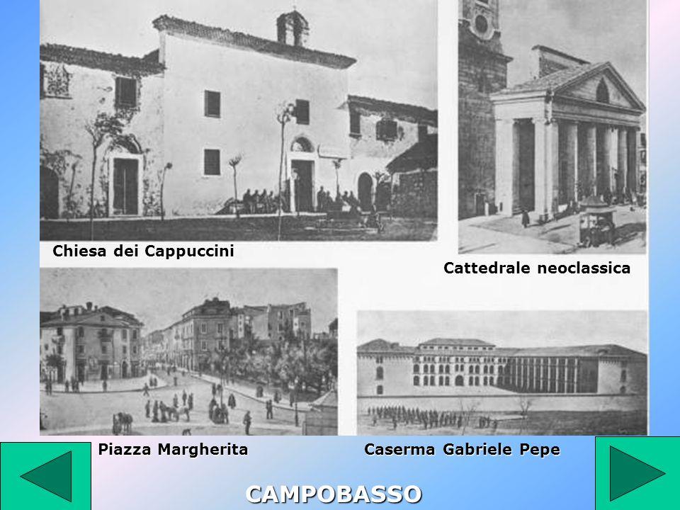 CAMPOBASSO Chiesa dei Cappuccini Cattedrale neoclassica