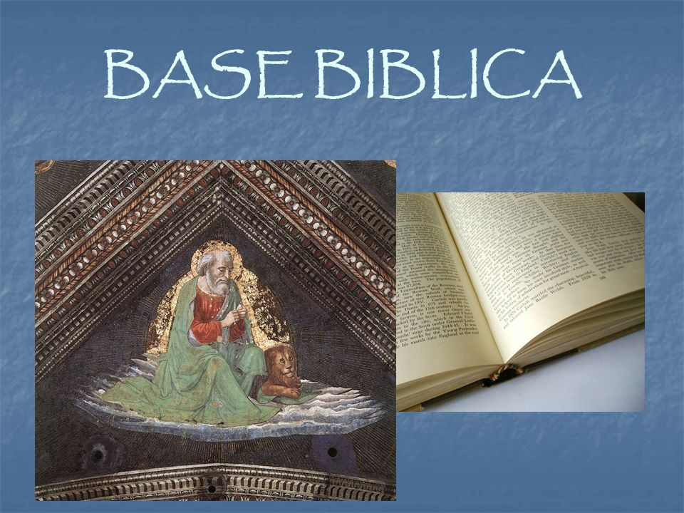 BASE BIBLICA