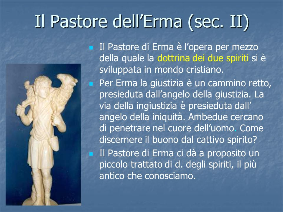 Il Pastore dell'Erma (sec. II)