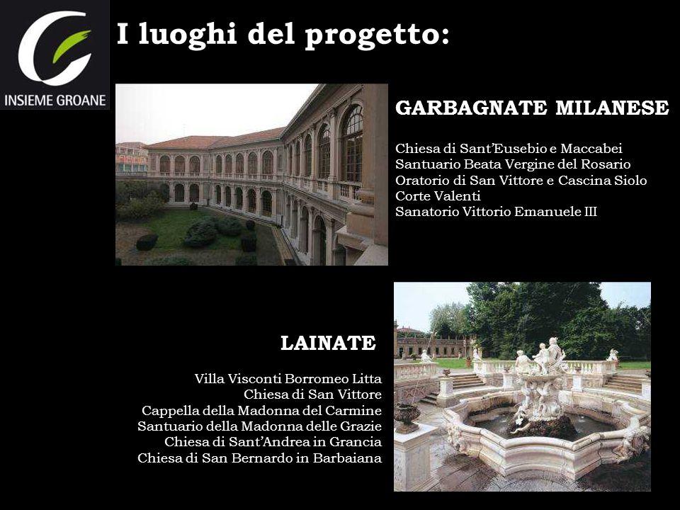 I luoghi del progetto: GARBAGNATE MILANESE LAINATE