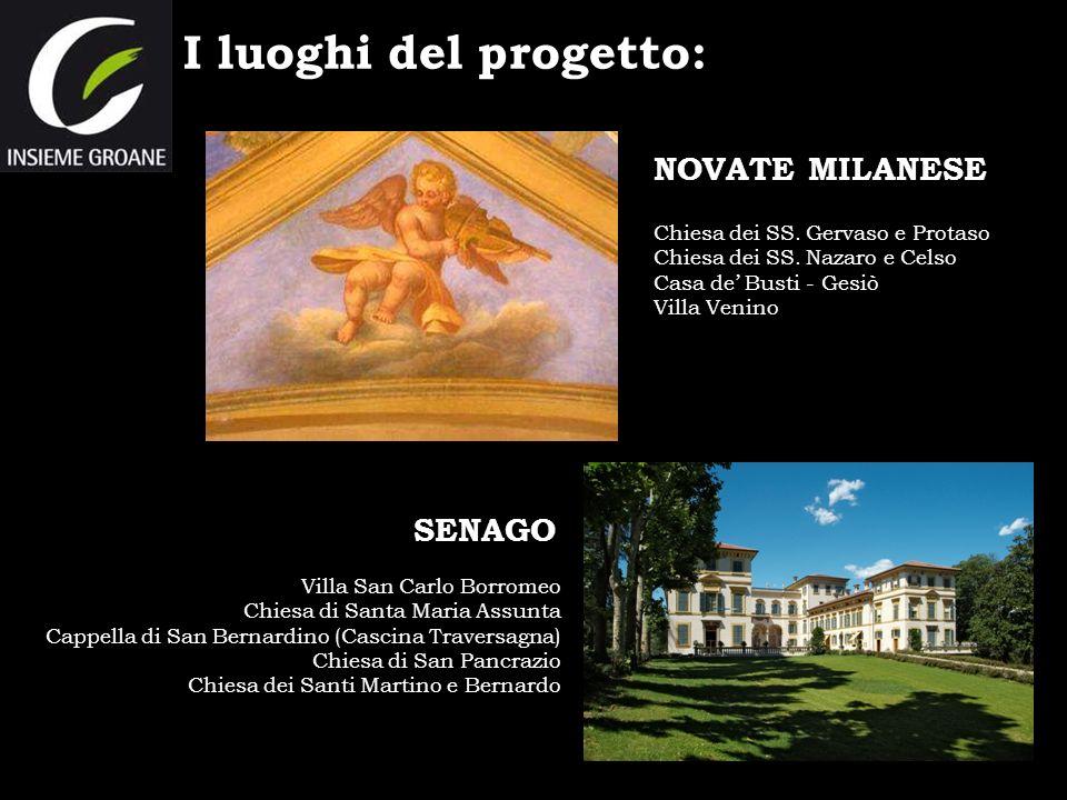 I luoghi del progetto: NOVATE MILANESE SENAGO