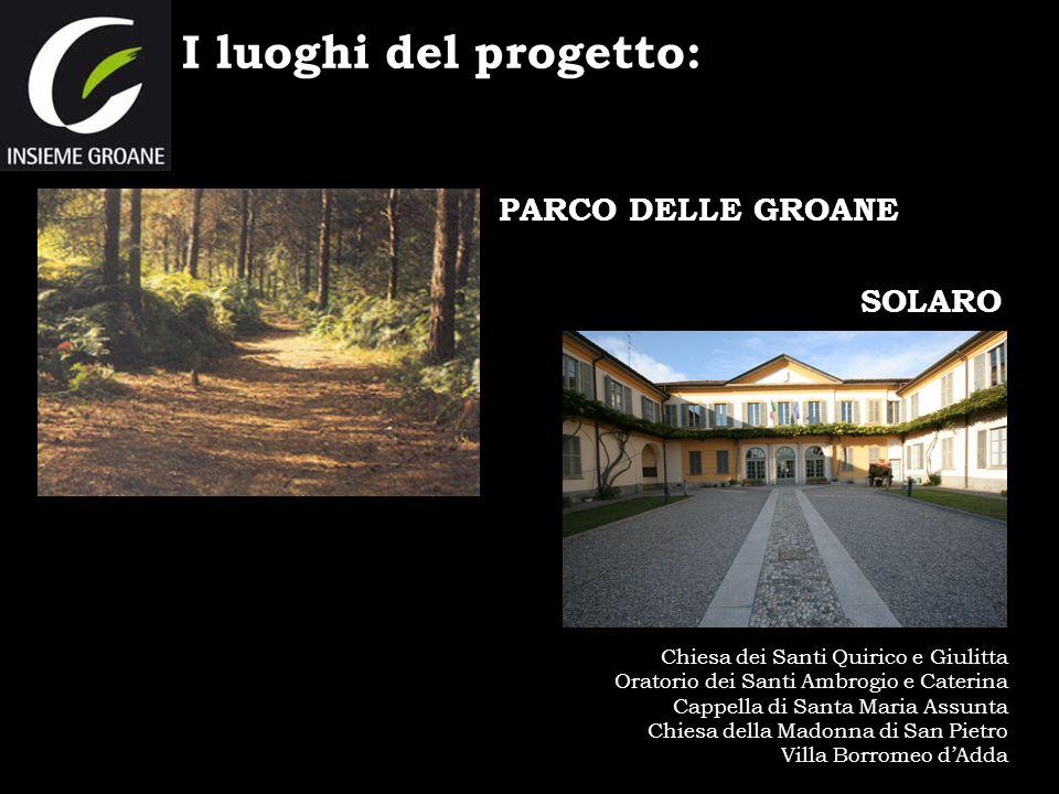 I luoghi del progetto: PARCO DELLE GROANE SOLARO