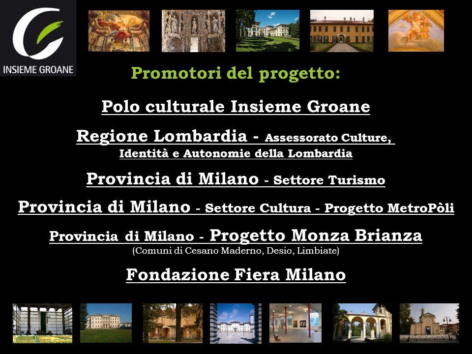 Promotori del progetto: Polo culturale Insieme Groane