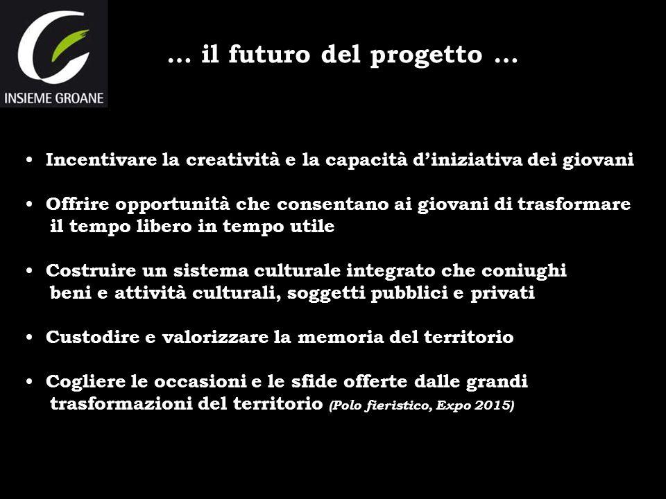 … il futuro del progetto …