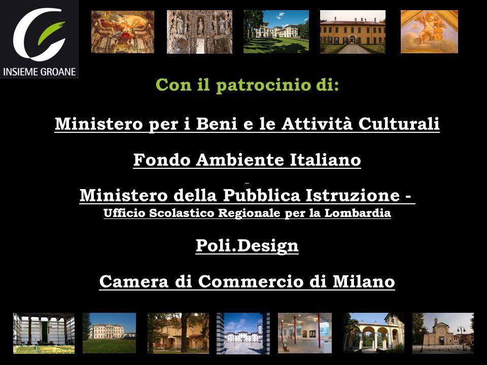 Ministero per i Beni e le Attività Culturali Fondo Ambiente Italiano