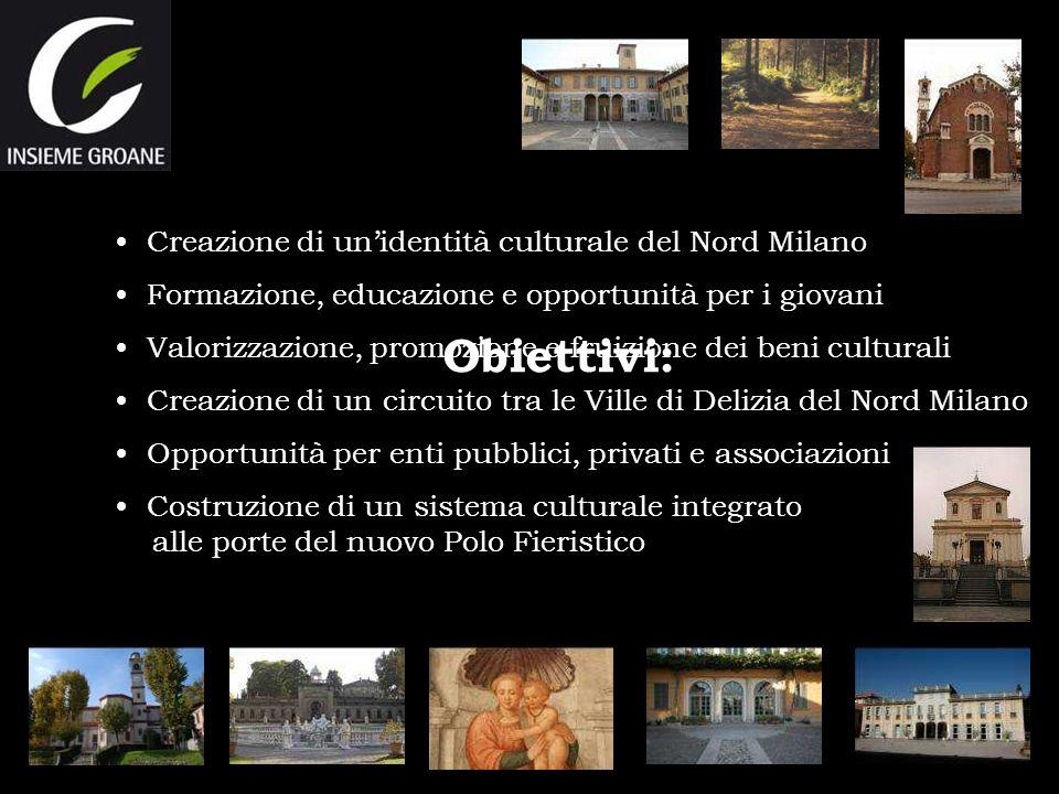 Obiettivi: Creazione di un'identità culturale del Nord Milano