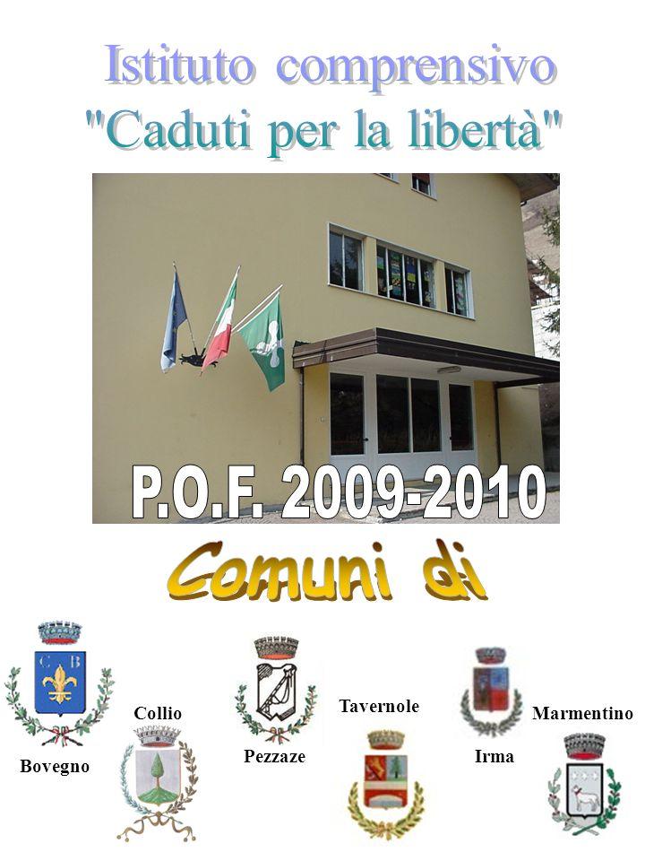 P.O.F. 2009-2010 Comuni di Istituto comprensivo