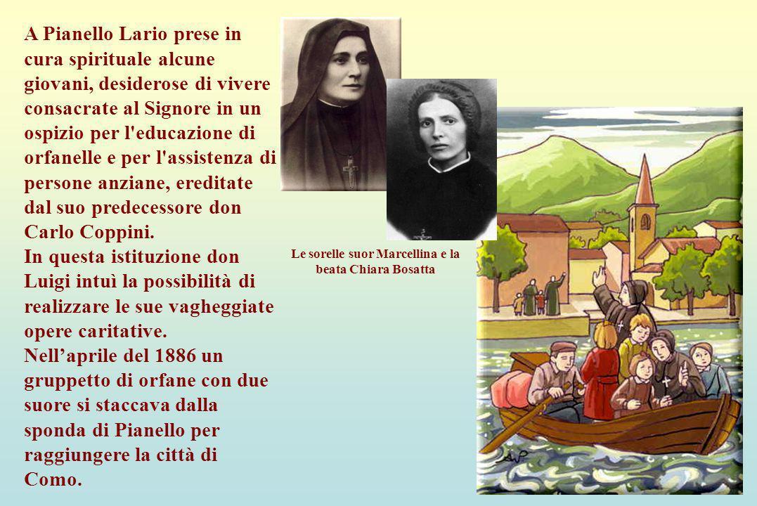 Le sorelle suor Marcellina e la beata Chiara Bosatta