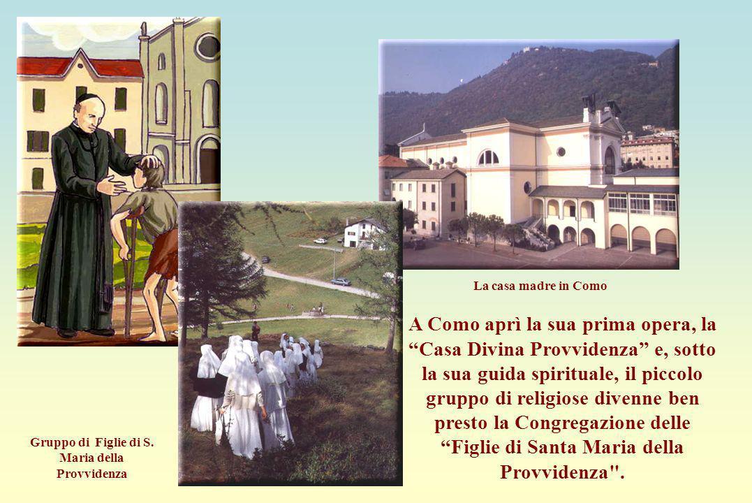 Gruppo di Figlie di S. Maria della Provvidenza