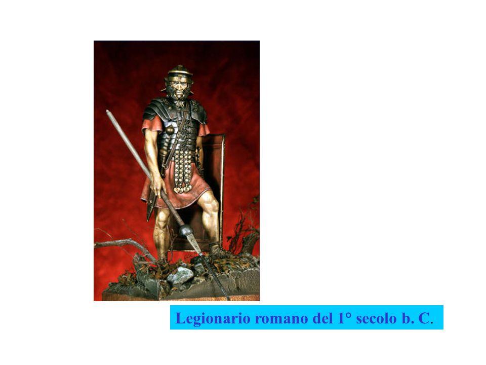 Legionario romano del 1° secolo b. C.