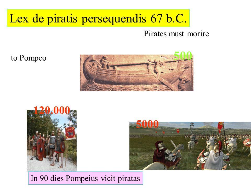 Lex de piratis persequendis 67 b.C.