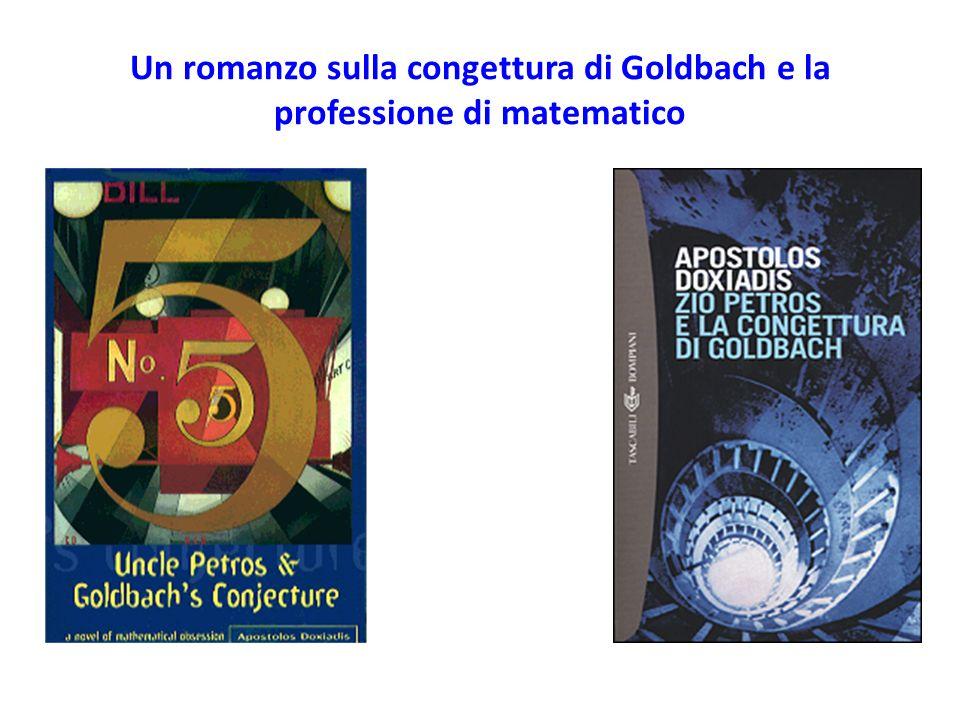 Un romanzo sulla congettura di Goldbach e la professione di matematico